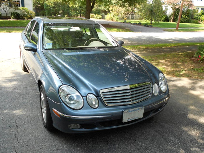 2003 mercedes benz e320 sedan 3 2l v6 for Mercedes benz v6