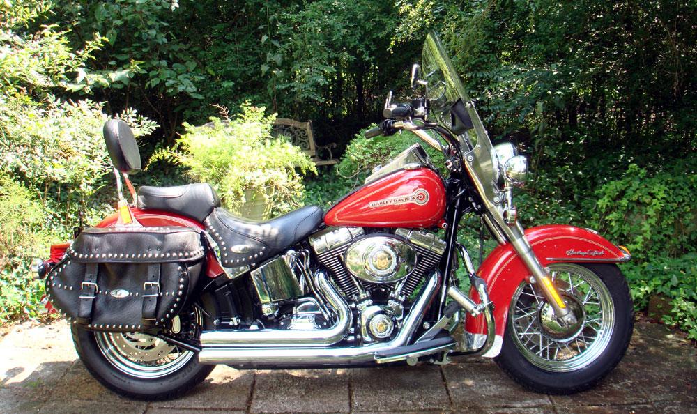 2006 Harley Davidson FLSTC Heritage Classic Softail Firemans