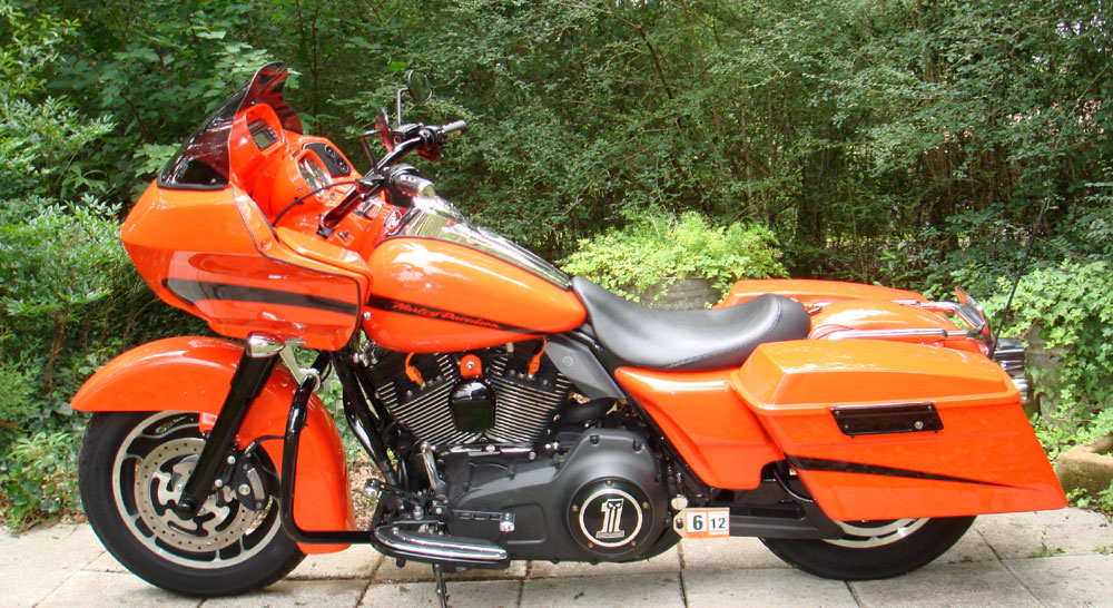 2008 Harley Davidson Fltr Road Glide 103 Ci Bassani 2 Into 1
