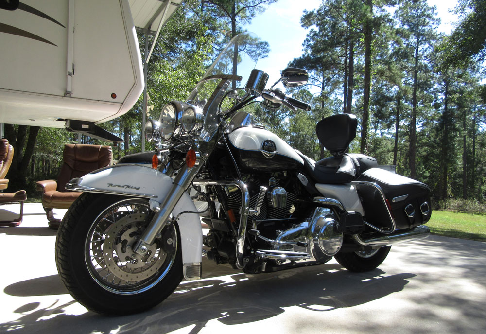 2008 Road King Classic w Factory Side Car