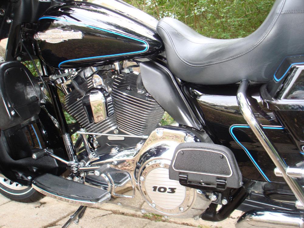 Harley Davidson Ultra Classic Running Rich