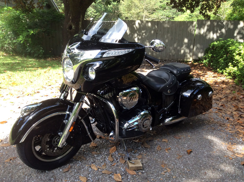 2016 Indian Chieftain Thunder Stroke 111ci