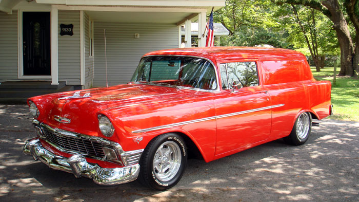 1956 Chevrolet Sedan Delivery 454 Crate MotorTurbo 400 Crate Trans!