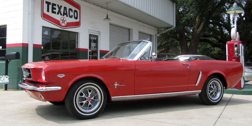 1965 Ford Mustang Convertible 289ci V8 4 BBL Power Top