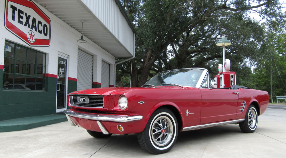 1966 Ford Mustang 289ci V8 Power Top