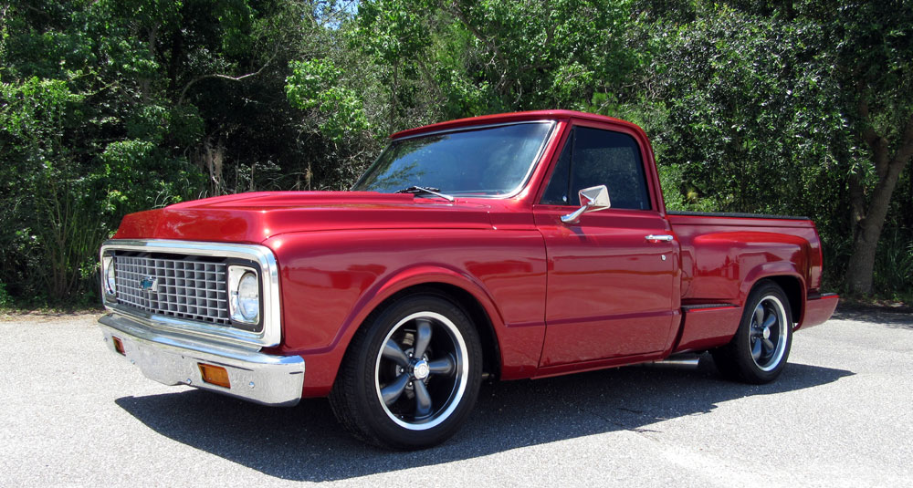 1972 Chevy Custom Step Side Pick Up