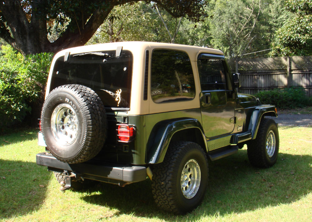 1997 Jeep Wrangler Sahara 6 Cyl 5 Speed Hard Top