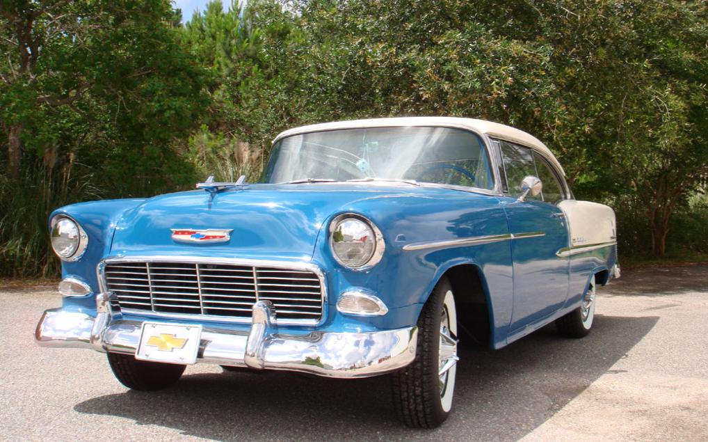 1955 Chevrolet 210 Series 2 Door Hardtop Bel Air Tribute